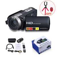 Cámara Digital HD profesional 16X Zoom cámara de vídeo Digital videocámara foto DSLR cámara DV 3,0