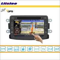 Liislee coche GPS de navegación Navi navegación de mapa para Renault Logan 2009 ~ 2013 Radio Estéreo TV DVD iPod BT HD pantalla S160 sistema Multimedia