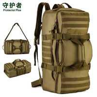 60L gran capacidad equipaje mochila & multi-función táctica al aire libre mochila hombres bolsas de A3136