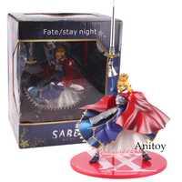 Fate/Stay Night Figure SABER PVC figura de acción coleccionable modelo de regalo de juguete 20 cm