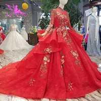 Vestidos de novia AIJINGYU Corea vestido de novia 2019 vestidos de baile de encaje de la Federación Rusa de los indios en el vestido de novia brillante 2018