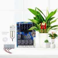 Elecrow nueva versión inteligente automático de riego Kit para Arduino DIY electrónica Kit de programa de agua al aire libre las plantas de módulo