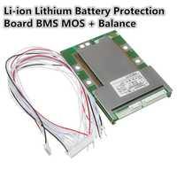 Venta caliente 1 unid 20 s 72 v (84 V) 80A 18650 batería de litio protección mos + balance módulo