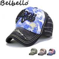 Belbello pupila al aire libre transpirable parasol gorra de algodón oscuro lavado con agua telas cómodas gorra de béisbol sombrero para niños