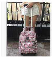 Bolso de viaje para mujer, bolso de viaje, bolso de viaje, mochilas con ruedas, bolso de mochila con ruedas y ruedas