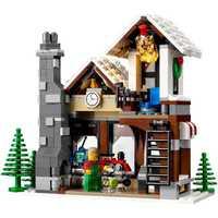 945 unids invierno pueblo tienda de juguetes creador árbol de Navidad ladrillos de construcción Blocs Juguetes compatible 10249 lepine Lele 39015