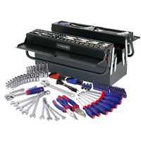WORKPRO 183 PC herramienta casa Kits de herramienta mecánico herramienta de destornillador Llave de trinquete de tomas de Plier