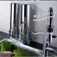 Alta calidad 2 Garde 304 Acero inoxidable ultrafiltración purificador de agua filtro de agua para la cocina casera
