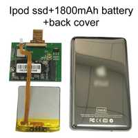 Nueva unidad SSD 128G 256G 512G para Ipod classic 7Gen 7th 160GB Ipod video 5th reemplazar MK3008GAH MK8010GAH MK1634GAL Ipod HDD disco duro