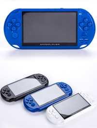X9 de consola de videojuegos de 5,1 pulgadas pantalla de las consolas de salida de TV con MP3 película cámara para GBA APG de juegos de arcade