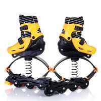2 en 1 adultos niños en línea Patines salto Fitness ejercicio zapatos ajustables transpirables Patines zapatos multifunción
