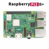 Nueva llegada Raspberry Pi 3 Modelo B, modelo B +, 2018 en Stock Raspberry Pi 3 B Plus 1,4 GHz de 64 bits procesador RPi 3 B +