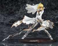 ¿El destino noche estancia vestido de boda de Ver? Saber figura de acción escala 1/7 pintado figura Saber Lily muñeca PVC figura de juguete Brinquedos Anime