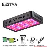 BestVA led élèvent la lumière 300/600/800/1000/1200/1500/1800/2000 W spectre complet pour L'intérieur serre tente de culture plantes poussent lumière led