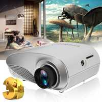 Hogar Mini cine portátil 1080 p 3D HD LED proyector Multimedia Home Theater USB VGA HDMI TV Home Theatre System