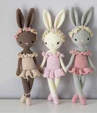 Crochet jouets crochet amigurumi poupée lapin modèle nombre TS041320