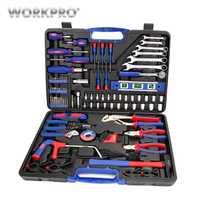 WORKPRO 139 PC conjunto de herramientas de reparación de la casa Kits de herramienta destornillador