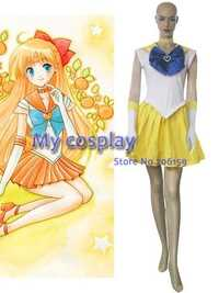 Anime Sailor Moon mina Aino Cosplay traje de ropa para niñas niños Halloween Party más tamaño barato anime trajes