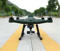 Aérea profesional inteligencia RC drone T50 FPV 7 pulgadas pantalla Quadcopter Drone con 3 ejes cardán RTF 10000 Mah de la batería