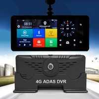 5,1 p HD 4G Wifi Car DVR Cámara Android 1080 GPS navegación ADAS Monitor remoto videocámara Dual Len Dash cam