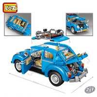 Mini bloques Técnica Mini ciudad modelo de coche ladrillos de construcción vehículo coche de carreras de la Asamblea juguete para los niños DIY educación regalo de los niños