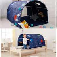 Tienda de campaña portátil para niños para jugar a la casa para niños plegable pequeña tienda de Decoración de casa, túnel de arrastre, pelota, piscina, tienda de campaña