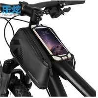 ROSWHEEL impermeable bolsas de ciclismo Top tube Bike Bag 1680D bicicleta delantero Pannier 4-6,7 pulgadas al aire libre carreras