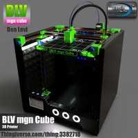 Kit complet d'imprimante 3d BLV MGN Cube, sans pièces imprimées