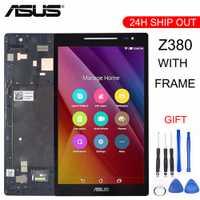 Nouveau pour Asus Zenpad 8.0 Z380 Z380KL Z380CX Z380CX Z380C Z380M P024 écran LCD + écran tactile numériseur avec cadre