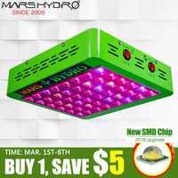 Mars Hydro réflecteur 300 W LED grandir lumière spectre complet Veg/Bloom commutable pour toutes les plantes d'intérieur et Phytolamp de culture de fleurs