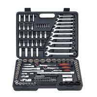 120 unids trinquete mango chica llave Socket 1/2 herramienta de reparación de mano combinación Kit de herramienta