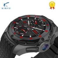 IP 68 a prueba de agua reloj de 3G Smartwatch 460 mAh batería de 2G + 16 GB Rom 2 PM Cámara de moda de hombre de negocios regalo vacaciones W2 ALLCALL