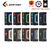 ¡Regalo gratis! GeekVape auspicios leyenda 200 W TC caja MOD nuevo como chipset Poder Dual 18650 e cigs sin batería auspicios leyenda MOD