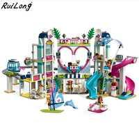 2018 nuevos amigos Heartlake City Resort modelo Compatible con Legoingly amigos bloque de construcción de ladrillo juguetes para los niños