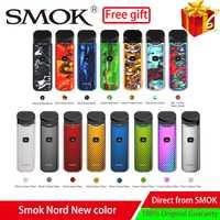 Nuevos colores humo Nord Kit de Vape cápsula 1100 mAh batería incorporada 3 ML cápsula cartucho pluma Vape Kit de cigarrillo electrónico A Vape de humo
