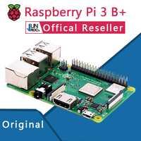 Original oficial Raspberry Pi 3 Modelo B + Plus Pi 3B + Linux Placa de demostración Python programación Mini PC