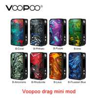 Nuevo VOOPOO Drag Mini MOD 117W con batería de 4400mAh y gen innovador. ajuste Chip E-cig Vape caja Mod del arrastre 157w shogun mod