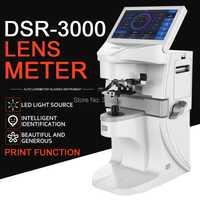 Lensmètre automatique numérique lensomètre dsr3000optique focimètre automatique lentille mètre 7 pouces écran tactile UV PD impression