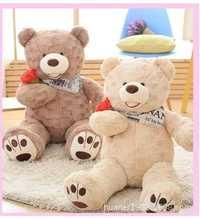 Rosa tamaño grande del oso de peluche muñeca juguetes de peluche de gran tamaño almohada oso muñeca cumpleaños Niña