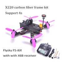 X220 220mm Quadcopter marco F3 Acro de Control de vuelo Littlebee 30A BLHeli_S CES 2205 2300kv TS5828/Flysky FS-I6X para mago 220