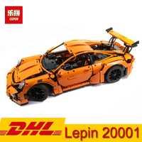 En Stock educativos 20001 20001B 20086 técnica serie Carrera coche F1 fórmula Bugatti autos Kits de construcción de bloques de ladrillos de juguete para niños regalo