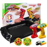 Eléctrico Beyblade ráfaga con lanzador de escritorio juego contra eléctrico giroscopio juguete dedo gyro niños regalo sorpresa