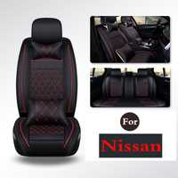 Cubierta de asiento de coche impermeable cinturón Protector-mejor Auto asientos Protector para Nissan Qashqai x-trail Paladin Bluebird d22