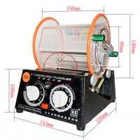 Livraison gratuite capacité 3 kg rotatif gobelet polisseuse bijoux polisseuse finition rotative