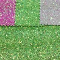 91x137 cm Pieles sintéticas Faux cuero Telas brillo láser en relieve cuero Telas color brillo para Costura DIY P09