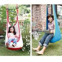 Colgante al aire libre de interior niños juguete hamaca columpio diversión silla hamaca adultos colgando juguete swing silla para la lectura tienda relajarse AntiStress