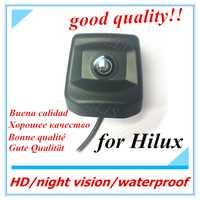 HD CCD RCA visión nocturna trasera agujero reverso OEM cámara de marcha atrás para Toyota hilux 2010 2017 ~ cámara de visión