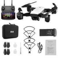 Y logopeda S20 FPV Drone con HD 1080 p HD Wifi Cámara giroscopio flotando 5MP plegable RC helicóptero de juguete bolsa de almacenamiento para niño