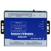 Module d'entrée-sortie évolutif de Terminal d'acquisition de données de Module de Modbus RTU avec 8 entrées numériques optiques isolées M310