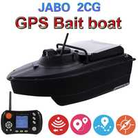 JABO 2CG 36A 20A GPS Auto Retorno pesca cebo barco piloto automático 2,4G GPS buscador de peces cebo tienda de barcos 16 los nidos